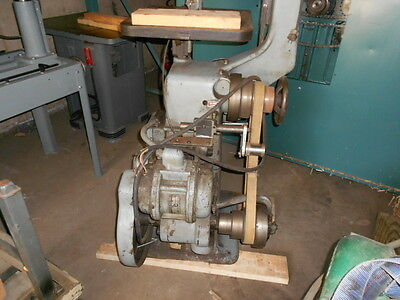 "Thiel 12""- 17"" Industrial  Vertical Bandsaw 3 ph 220/440v HP German"