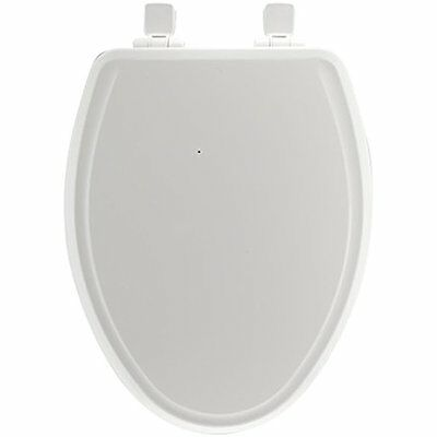 Mayfair Toilet Seats 148SLOWA 000 Slow-Close Molded Wood Toilet Seat featuring
