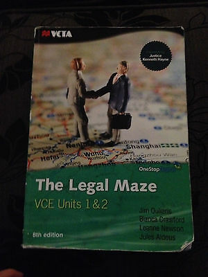 The Legal Maze - VCE Units 1 and 2 by Jim Ouliaris, Leanne Newson, Jules...