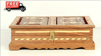 Islamic Muslim Quran Box/convertible Holder Ramadan Eid Camel Bone Fitted 7881