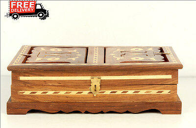 Islamic Muslim Quran Box/convertible Holder Ramadan Eid Camel Bone Fitted 7880