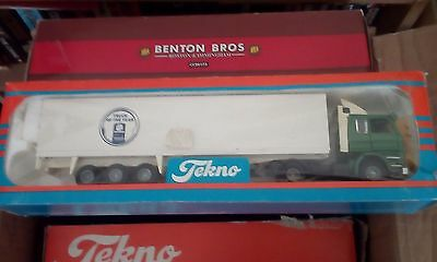 Tekno 1/50 , Scania artic , truck of the year 1989