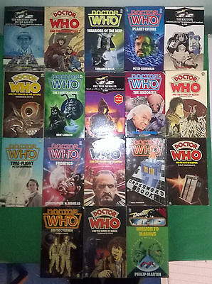 Bargain: £18.50 for 18 Doctor Who Target books. Sale4charity do. Bundle, lot.