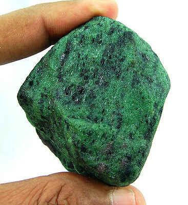 825.00 Ct Natural Ruby Zoisite / Anyolite Loose Gemstone Rough Specimen - 4434