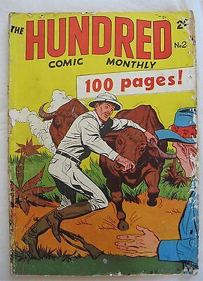 The Hundred #2 (Aust - Colour Comics) Fair condition
