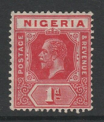 1914 NIGERIA 1d RED STAMP – MLH