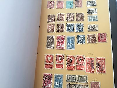 Portugal all period stamp collection on album pages incl a few better values
