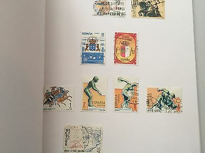 Spain collection on album pages maybe 400 or so different maybe more