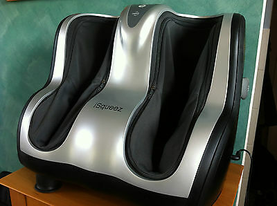 OSIM iSqueez Foot Calf Massager vibration muscle therapy model OS-8000