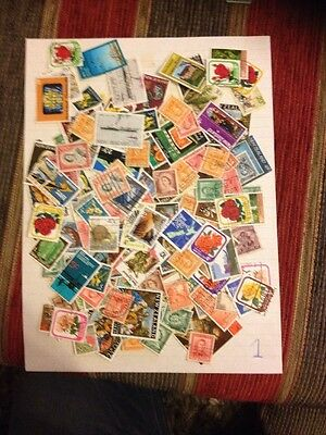 new zealand Large stamps Collection Mixture