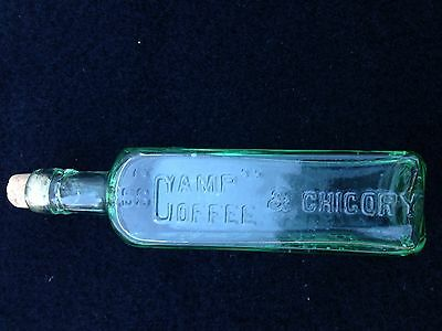 Vintage and Collectable Camp Coffee & Chicory Bottle