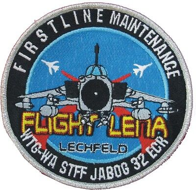 Patch Aufnäher PA200 Tornado JaboG32 First Line Flight Lena