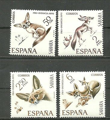 SPANISH SAHARA 1970. Complete series 4 new stamps**        (4388)