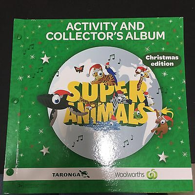 Woolworths Activity And Collectors Album - Xmas Edition (5 Cards Missing)