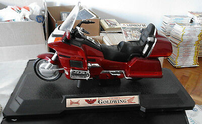 Modellino Honda Goldwing Gl 1500  Rossa