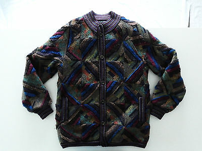 Missoni Vintage Jacket Sweater Maglione Double Face