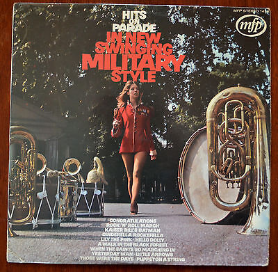 Hits On Parade In New Swinging Military Style LP Laminated Sleeve MFP 1414 – VG-