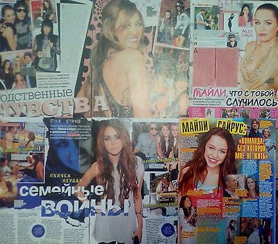 Miley and Billy Ray Cyrus articles / clippings