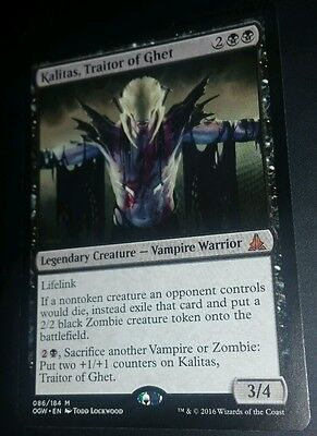 MTG Oath Of The Gatewatch Mythic Rare KALITAS TRAITOR OF GHET NM
