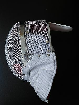New Jiang electric fencing mask large or medium size, Sheffield Fencing Supplies
