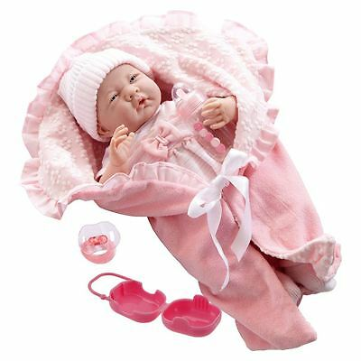 39cm La Newborn Life-like Real Play Doll Girl Toddlers Toy With Baby Accessories