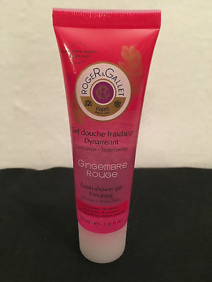 ROGER & ET GALLET - Gingembre rouge - Gel douche 50 mL - NEUF