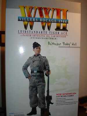 """TIGER ACE Balthasar """"Bobby"""" Woll - WW II -1/6 Scale Figure"""