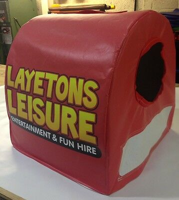 Inflatable Blower / Fan Cover (noise reduction / weather protection)