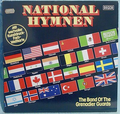 The Band Of The Grenadier Guards – National Hymnen -INNI NAZIONALI - VINILE LP