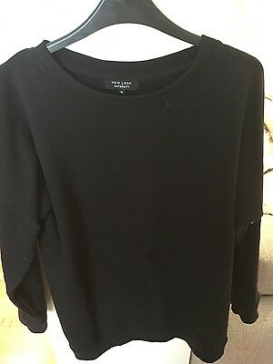New Look maternity black sweater size 12