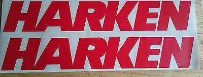 HARKEN sailing boating yachting surfing car campervan graphics decals stickers