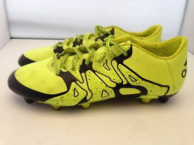 adidas X 15.3 Leather FG Football Boots Mens Size 7 UK......