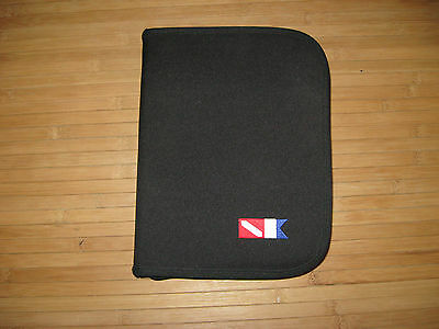 Scuba Dive logbook binder-Used-Good condition.