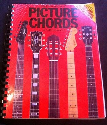 The Encyclopedia Of Picture Chords For All Guitarists - By Leonard Vogler