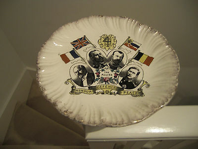WW1 Plate The Allies