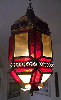 Art Deco 1900 Ceiling Light Lamp Chandelier Gothic Oriental french Paris boudoir