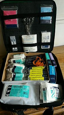 Huge First Aid Kit in Lyon shoulder bag massive content sports trauma paramedic