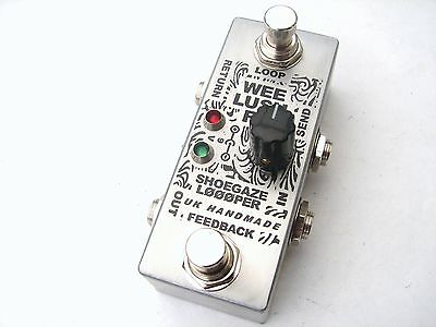 Wee Lush FX Feedback Effects Loop Pedal Looper True Bypass Guitar Bass Switch