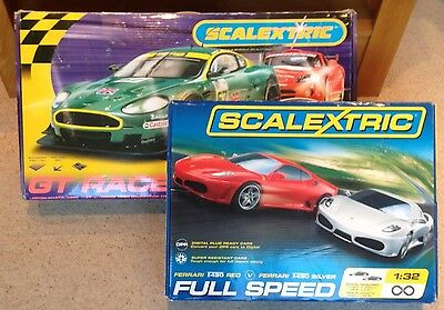 Scalextric GT Racers and Full Speed Sets