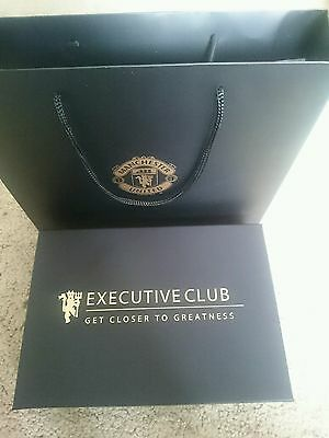 Manchester United executive club scarf gift, great Christmas gift