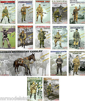Dragon 1/16 Military  Figure  New  Plastic  Model  Kit  Figures 1 16