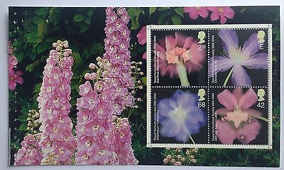 GB DX33 Glory of the Garden Prestige Booklet pane, mixed values SG2456a NHM