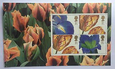 GB DX33 Glory of the Garden Booklet Pane 4 x 1st SG2463a NHM