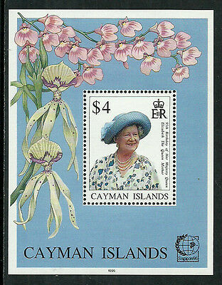 Cayman Is. #709 Mint Never Hinged S/Sheet - Queen Mother's Birthday