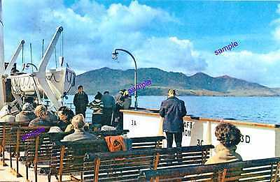 Ferry Excursion Boat Deck View,Vintage Scotland ?,Outstanding Scene