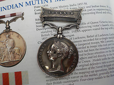 Indian mutiny medal and bar