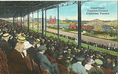 Canadian National Exhibition Grandstand - Toronto, Canada - 1930s Postcard
