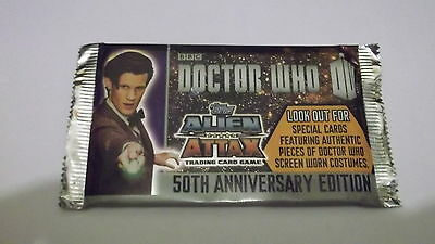 Doctor Who Alien Attax 50th Anniversary Edition promotional Pack