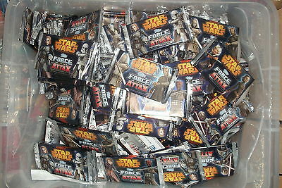 50x sealed PACKS Star Wars Force Attax Series 4 Trading Cards