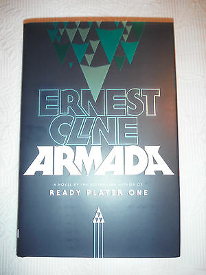 ***1st Print/1st Edition*** Armada by Ernest Cline (Ready Player One) NEW
